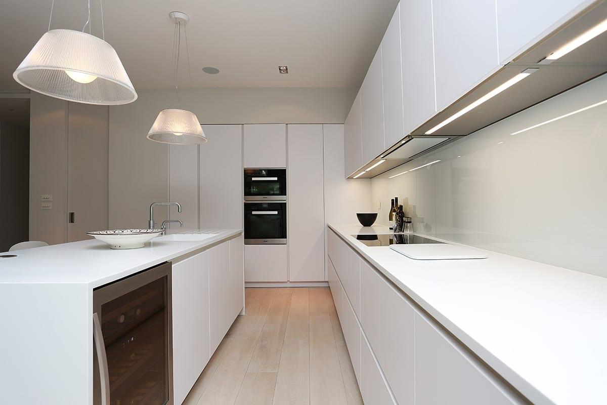 Under cabinet strip LED Lighting - Net Kitchens Direct, Walthamstow