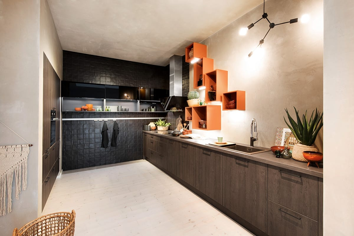 Tangerine Colour Pops | Yorkshire Küchen
